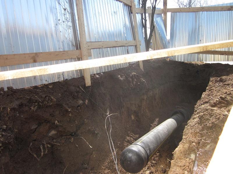 газопровод методом ГНБ бурения