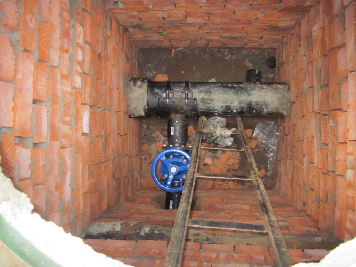 реконструкция водопровода