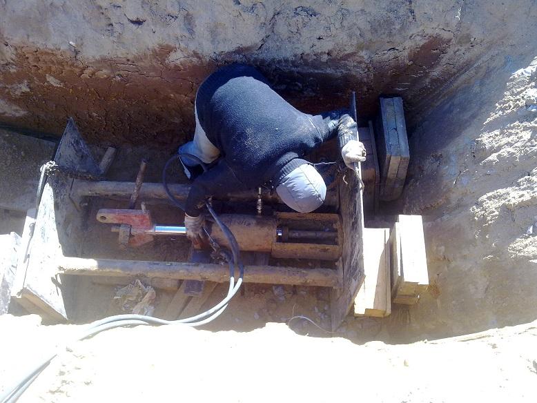 прокол под дорогой для кабеля