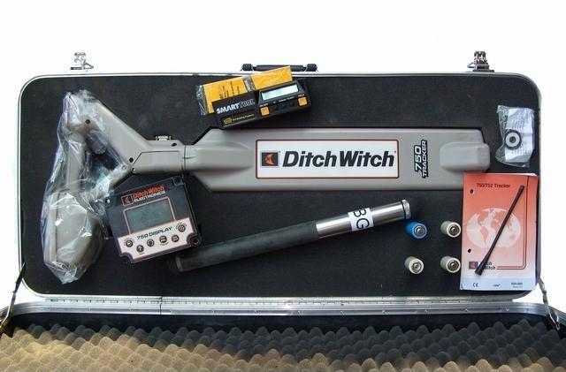 Локационная система Subsite 750 для установки Ditch Witch JT4020