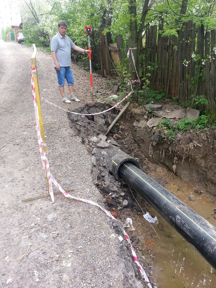 метод ГНБ для газопровода