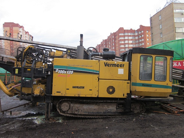 установка ГНБ  Vermeer 100х120