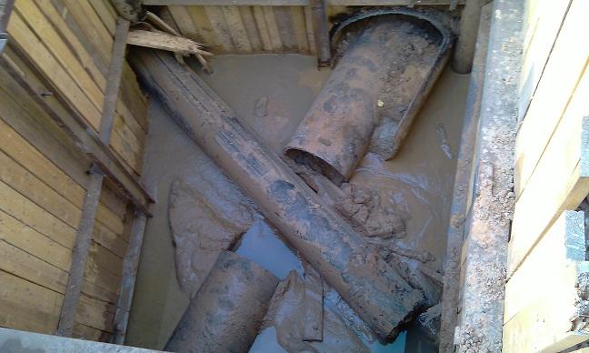 прокладка канализации методом гнб